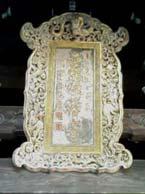 隠元禅師の書・聖福寺山門の扁額